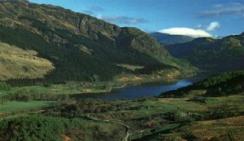 Loch Lubnaig, only a twenty minute drive from Hillview Cottage, is deep into the highlands...Image copywright..Calum Menzies Great location for Abro Stirling, Prudential, and BP Grangemouth. FK9 4UE FK3 9XQ FK7 7RR