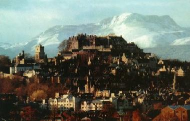 A breathtaking view of Stirling and the castle taken in winter. Worth any trip for this view alone